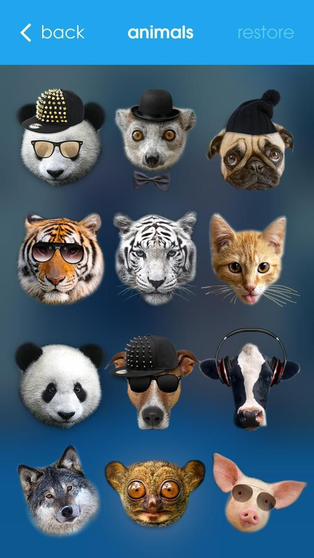 Meow - Animal Face Photo Editor Booth with Funny Animal Head ...