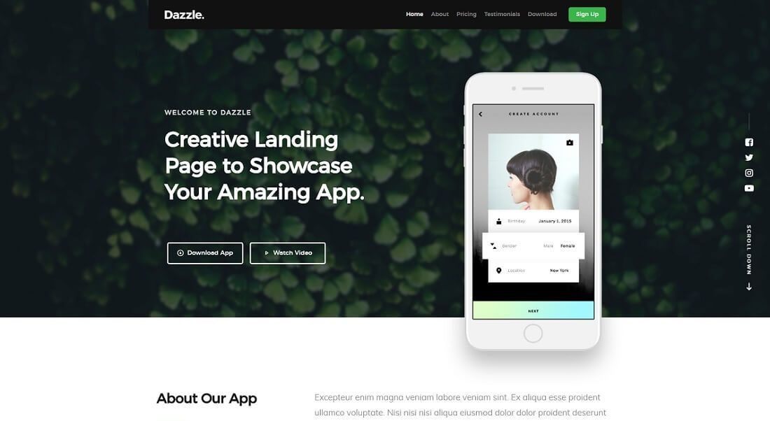 16 Responsive & Free HTML Website Templates 2017 - Colorlib