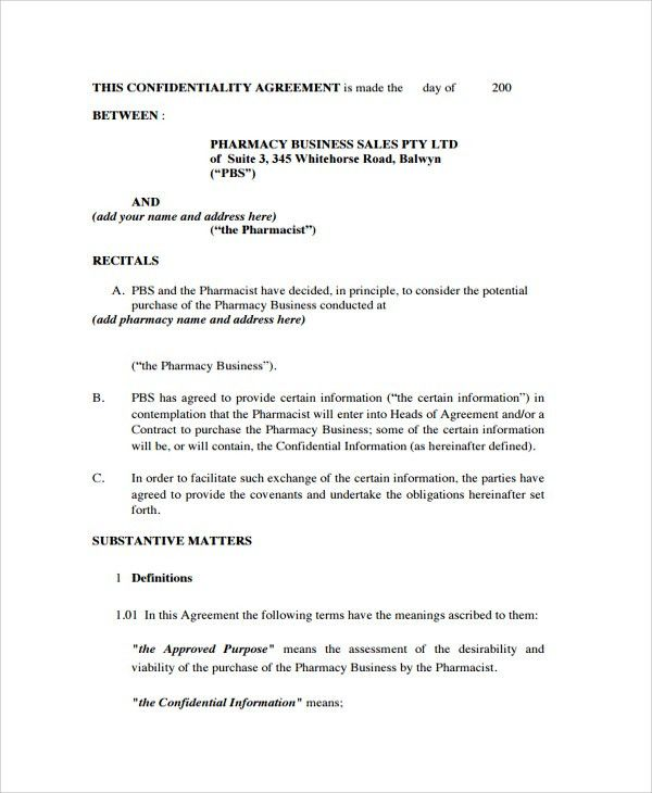 Purchase Agreement For Business. 4+ Business Purchase And Sale ...