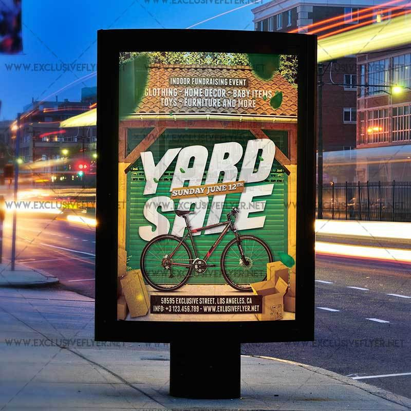 Yard Sale – Premium A5 Flyer Template | ExclsiveFlyer | Free and ...