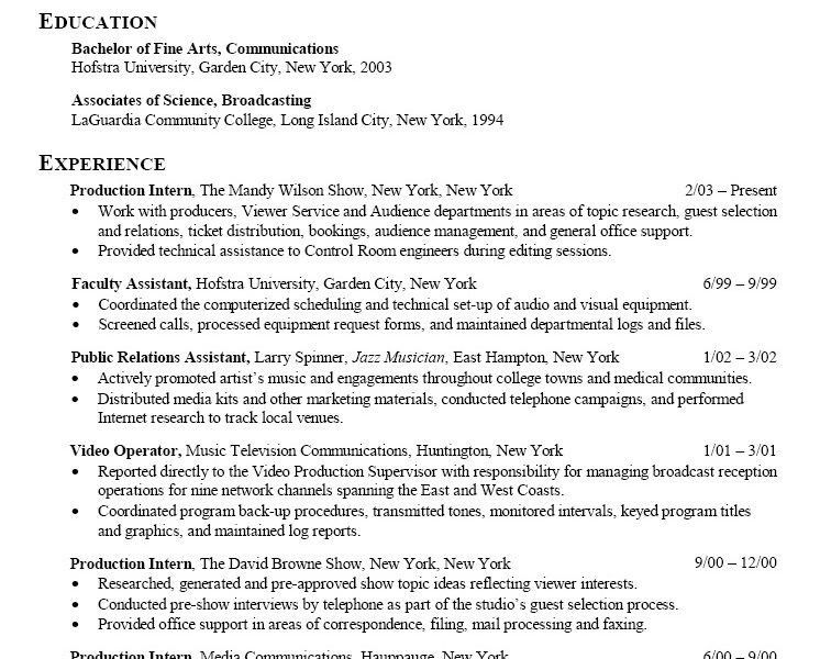 Classy Design Resume Objective For Internship 14 Public Relations ...