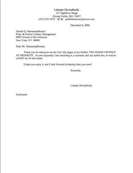 Short Cover Letter Sample | | jvwithmenow.com