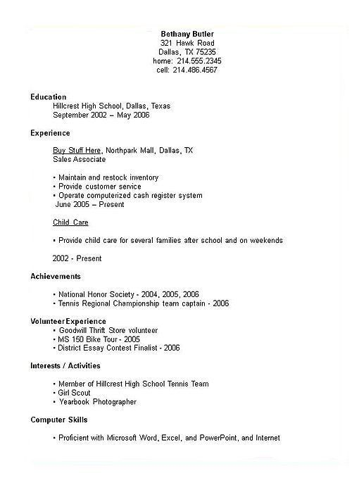 Absolutely Ideas Resume For Students 6 College Student Resume ...