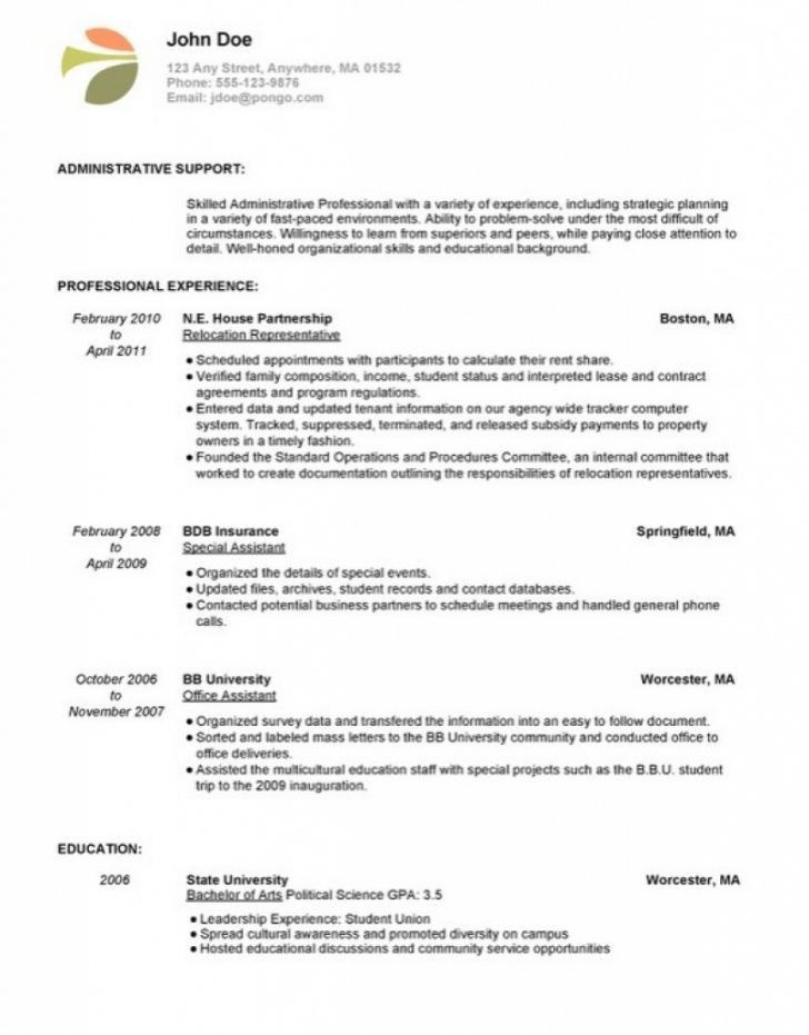 Download Resume For Stay At Home Mom Returning To Work Examples ...