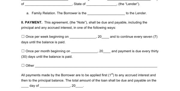 Business Loan Agreement Template Company Loan Agreement Template ...