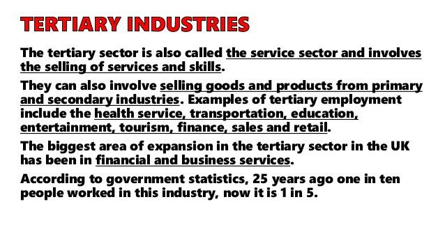 GEOGRAPHY IGCSE: INDUSTRY