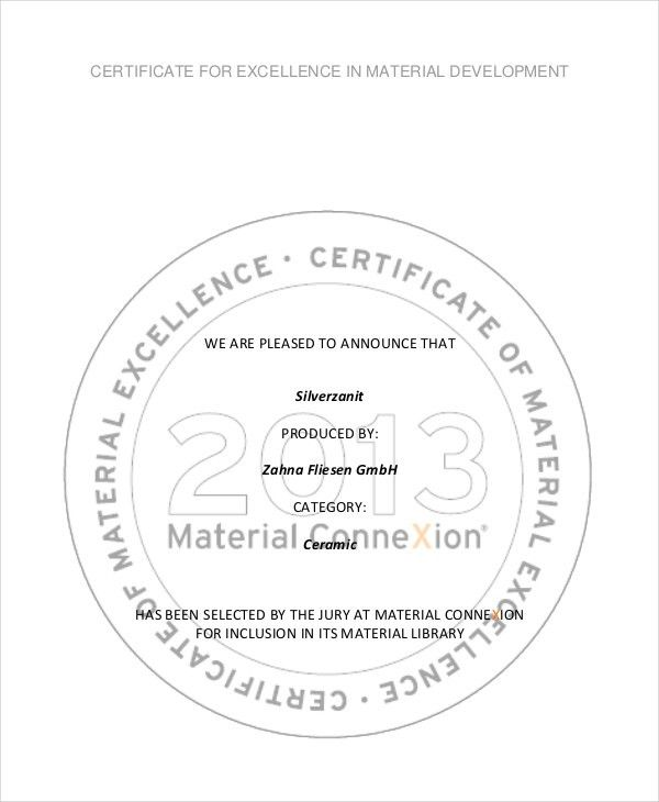 Excellence Certificate Template   15+ Free Word, PDF, PSD Format .