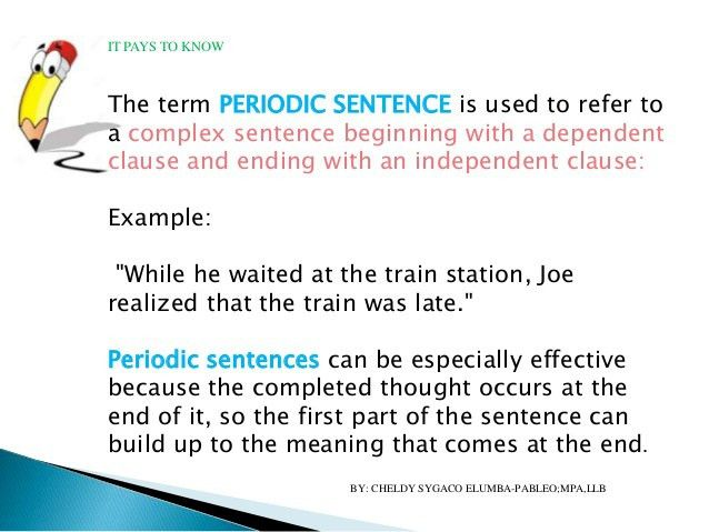 Simple, compound & complex sentences