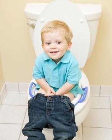 Potty training: When to try underwear