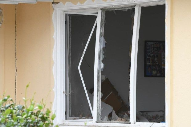 Photos: An Explosion In A West Hills Home Causes Windows To Be ...