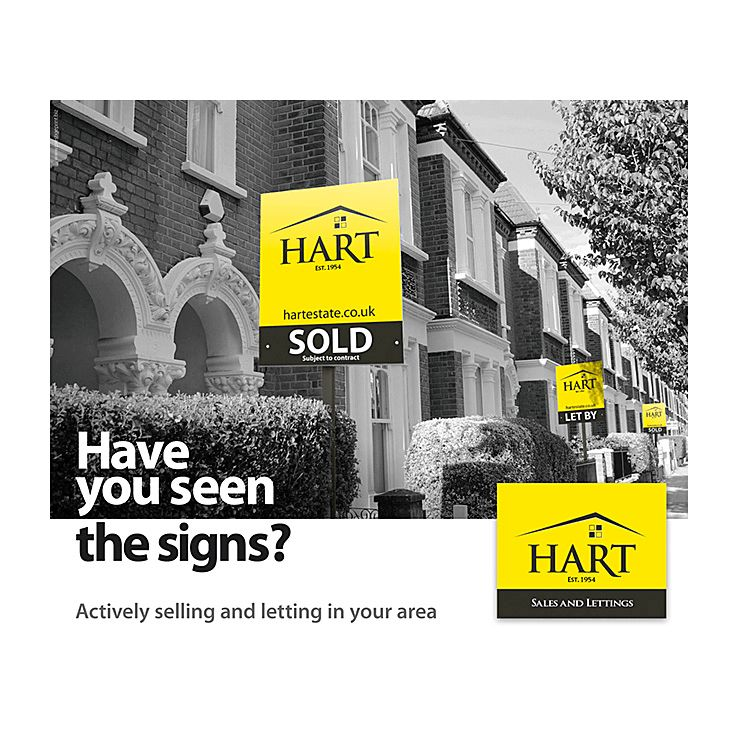 Estate Agency Marketing | Leaflets | Flyers | Design