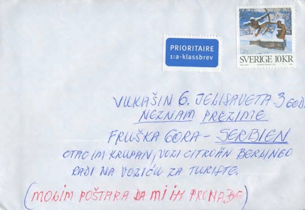 Postal Addresses