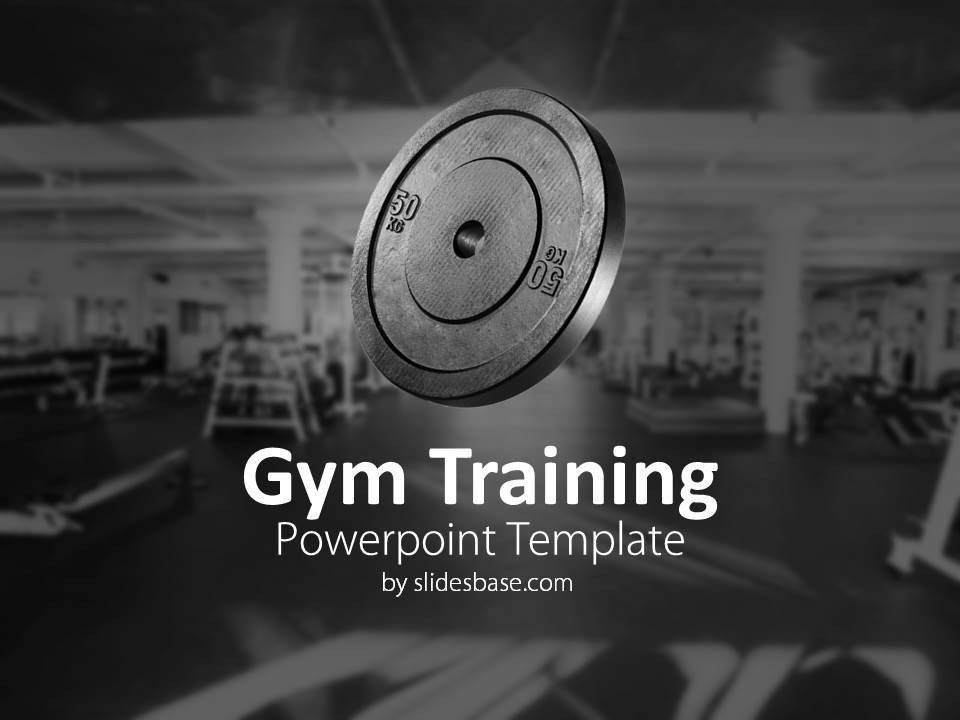 fitness presentation template 30 free powerpoint templates ...