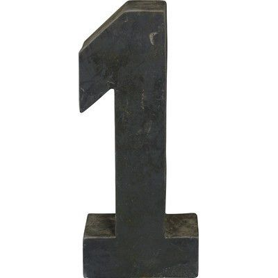 Trent Austin Design Number 1 Letter Block | Products | Pinterest ...