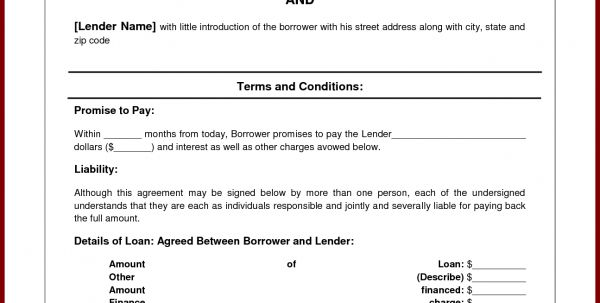 Basic Loan Agreement Pdf Simple Loan Agreements Loan Agreement ...
