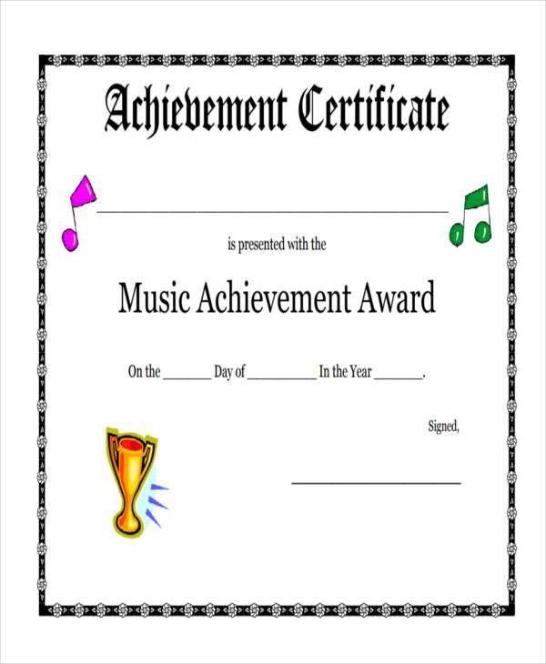 27+ Award Certificate Examples, Samples