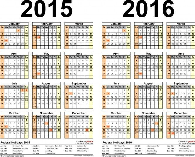 Free Payroll Calendar 2016 Biweekly Template | Calendar Template 2017