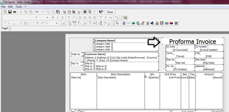 Proforma Invoice Dalam Accurate | Solution Center