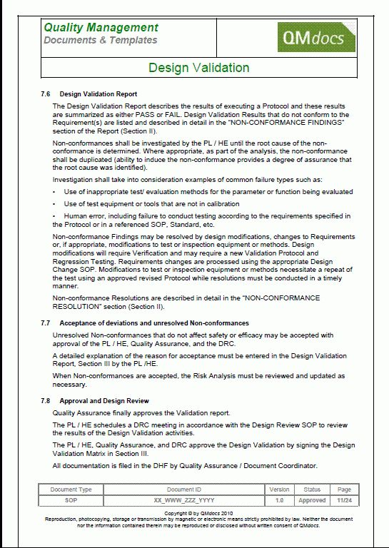 Doc.#585580: Free Sop Templates – SOP Template Standard Operating ...