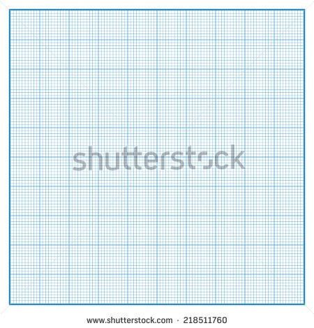 Vector Square Engineering Graph Paper 5 Stock Vector 218765092 ...