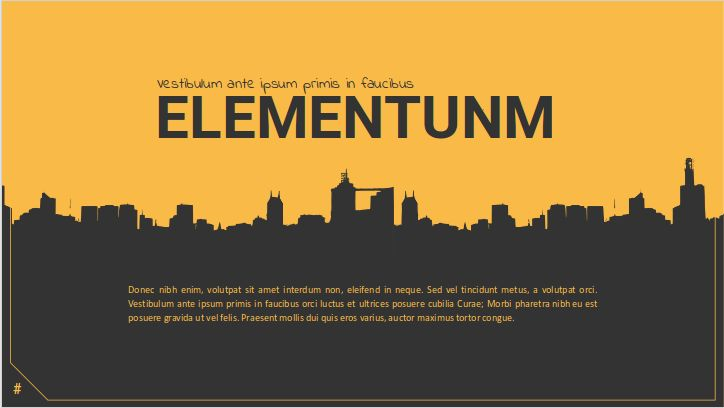 Modern Elementum Powerpoint presentation template & Google Slides ...
