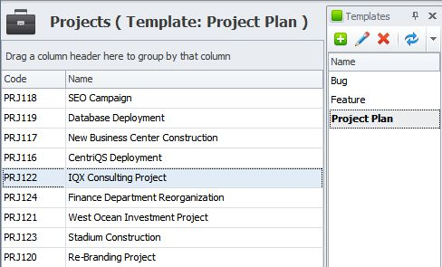 Project management outline template and software solution for ...