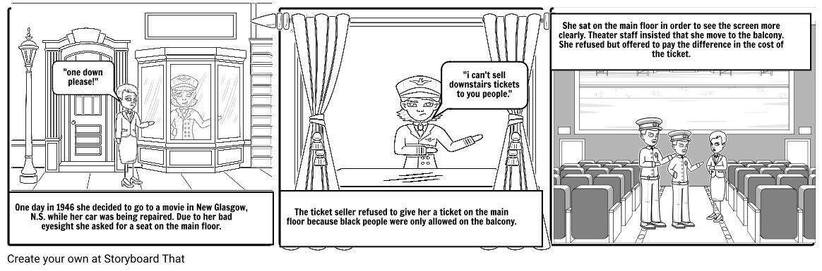 viola desmond Storyboard by madmonkey789
