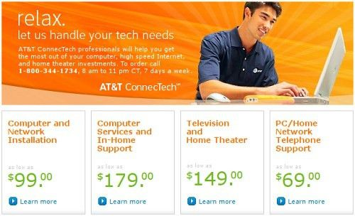 AT&T Launches Nationwide In-Home Service for PC, TV and Home ...