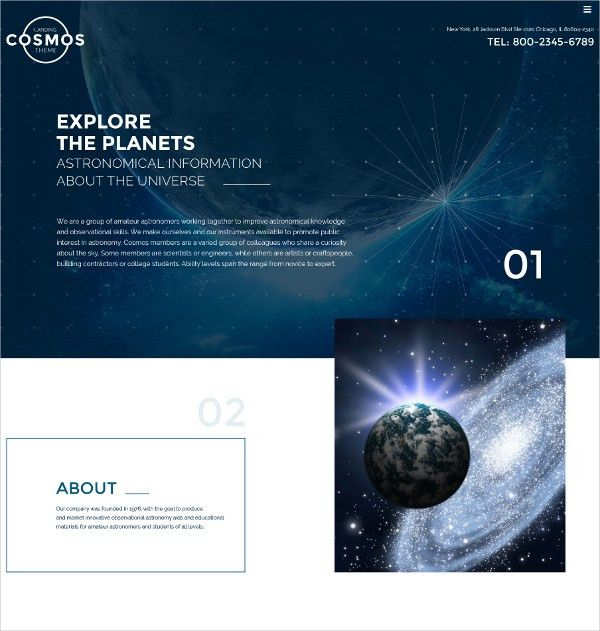 16+ Bootstrap Landing Page Themes & Templates | Free & Premium ...
