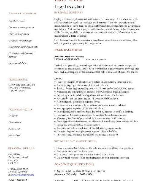 Legal Resume Format, for more and various legal resumes formats ...