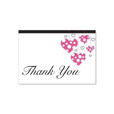 Top 5 Designs Of Thank you card Templates - Word Templates, Excel ...
