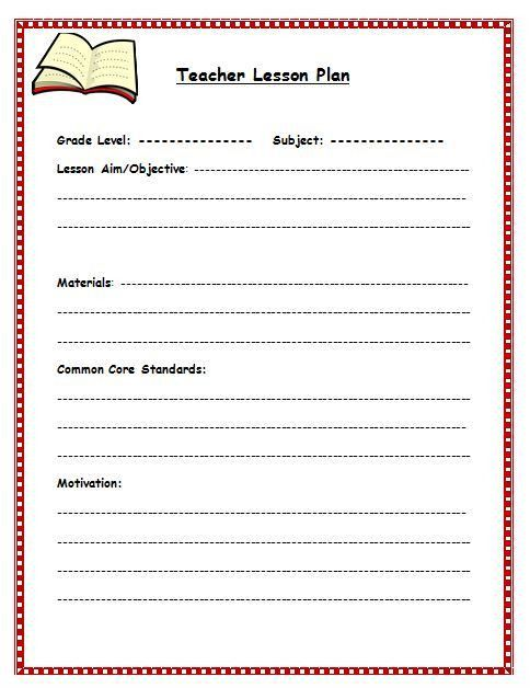 28+ [ Lesson Plan Template Pages ] | File Lesson Plan Template Pdf ...