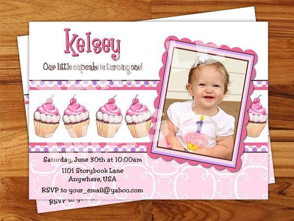 First Birthday Invitation Wording and 1st Birthday Invitations ...