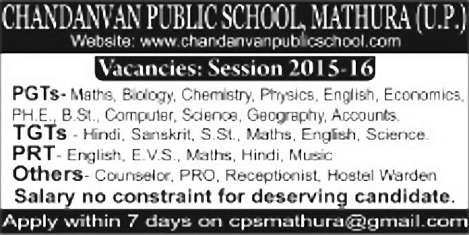 Job - Primary Teacher - Uttar Pradesh - Learning & Library ...