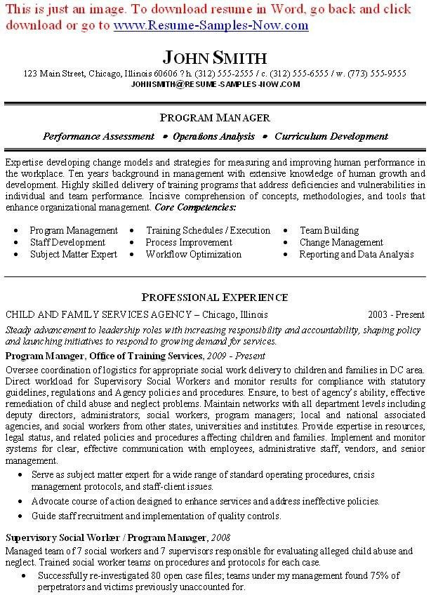 licensed social worker resume sample seangarrette ...