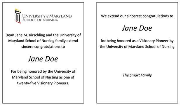 125th Anniversary Gala | University of Maryland School of Nursing