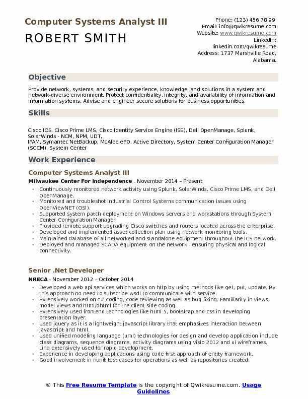 hris analyst resume quantitative research analyst resume job