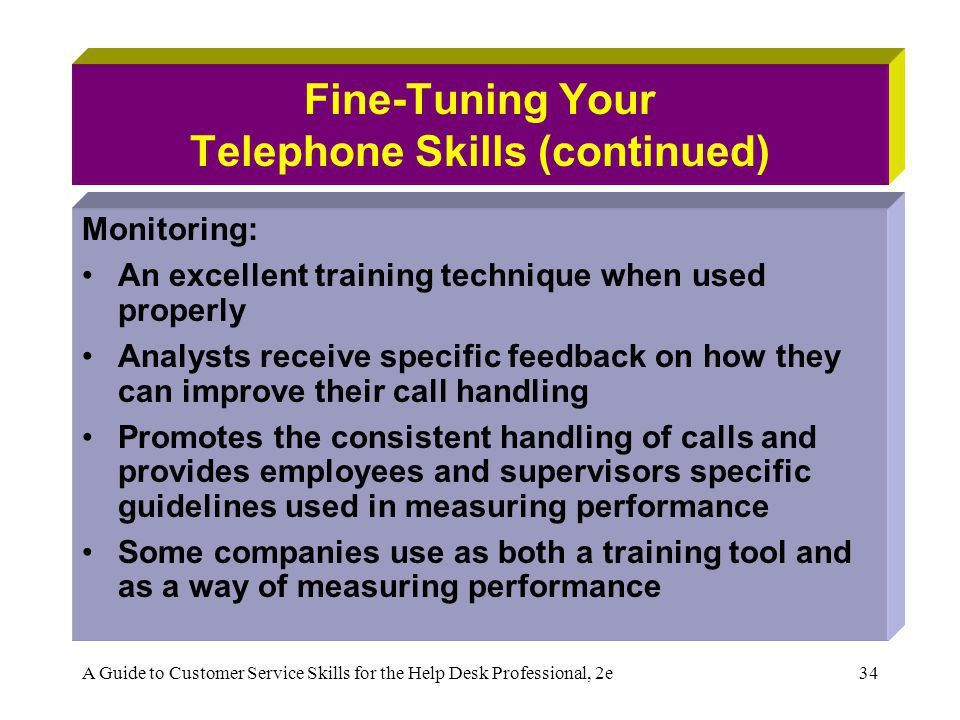 Chapter 3: Winning Telephone Skills - ppt video online download