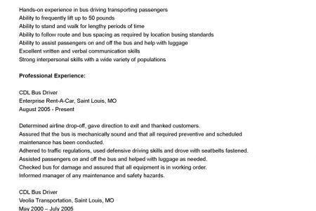 cdl truck driver resume example cdl truck driver job description ...