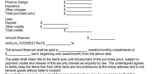 Contract Examples – Printable Samples