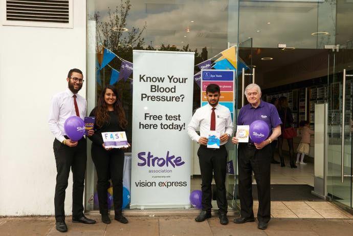 Vision Express hosts blood pressure drop in in bid to decrease ...