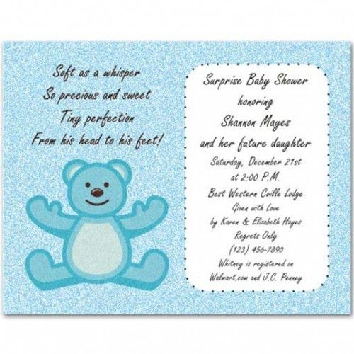 baby shower wording for boy boy baby shower invitations wording ...