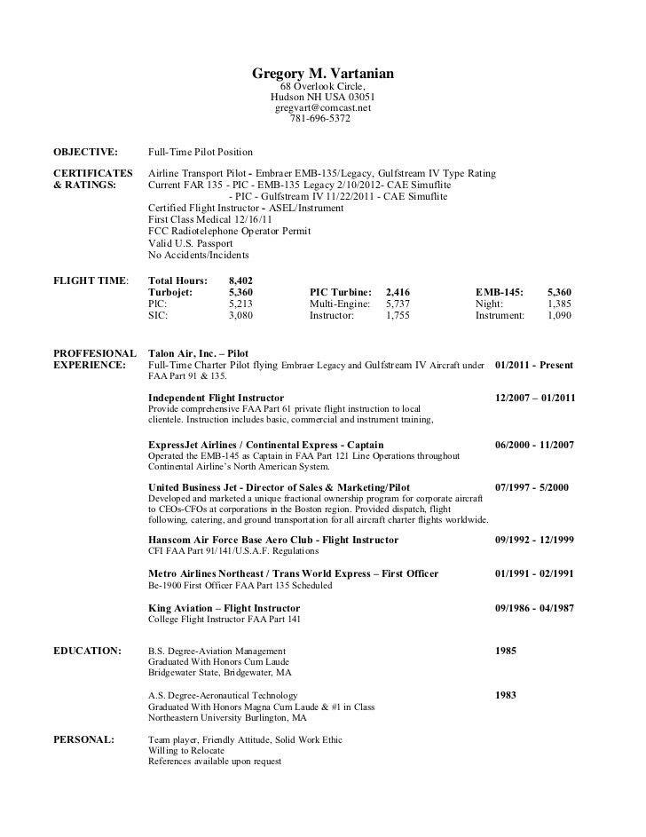 Download Pilot Resume | haadyaooverbayresort.com