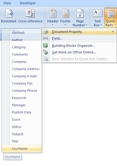 Automatically create Word documents which include list fields ...