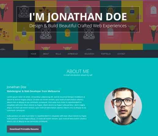 Resume Websites Examples