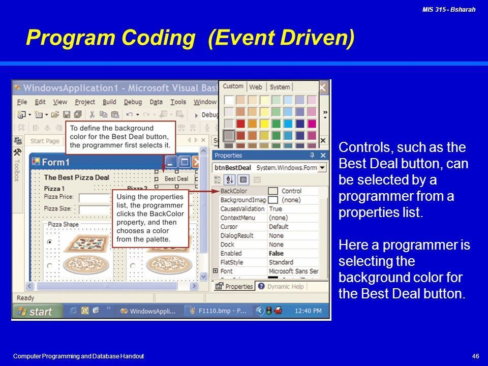 Computer Programming and Database Handout - ppt video online download