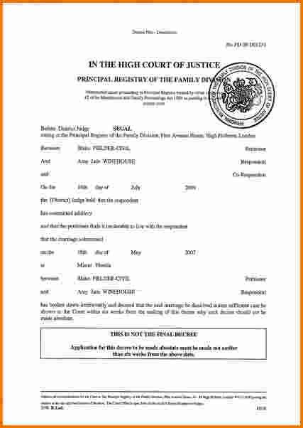 6 divorce papers online | Divorce Document