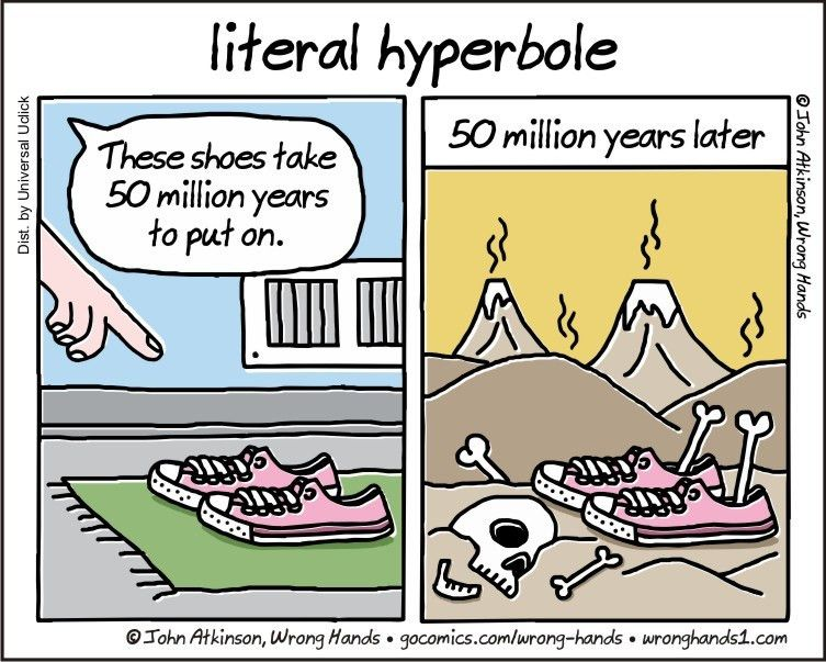 Hyperbole - Lessons - Tes Teach
