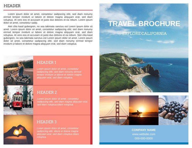 Free Bi-Fold Brochure Templates & Examples [Free Templates]