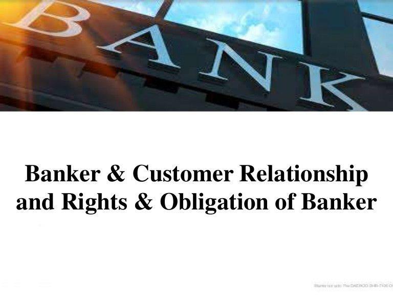 Banker and customer Realtionship